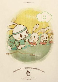 Instituto de Apoio a Crianca: Rabbit