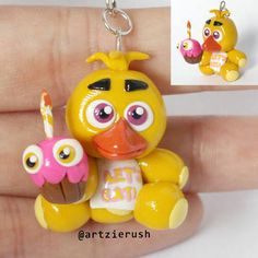 chica plush polymer clay - Google Search