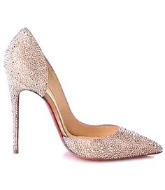 Iriza Strass Crystal Pumps by Christian Louboutin//