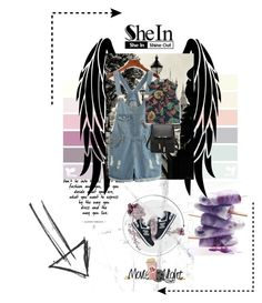 """""""SheIn No.1"""" by missamy209 ❤ liked on Polyvore featuring MANGO, New Balance and shein"""