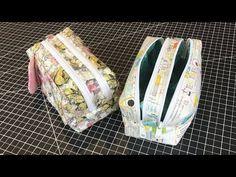 2 Zipper Travel Bag/Pencil Case - YouTube