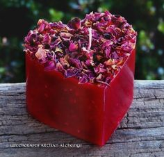 Witchcrafts Artisan Alchemy - BEWITCHING WITCH'S HEART Gothic Red Shaped Pillar Candle,  (http://www.witchcraftsartisanalchemy.com/bewitching-witchs-heart-gothic-red-shaped-pillar-candle/)