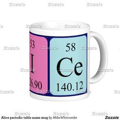 Laura periodic table name mug september 2016 purchases form my alice periodic table name mug urtaz Image collections