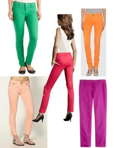 Spring Trend: Colored Pant