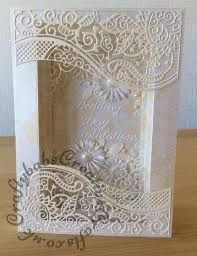 Frame Wedding Card made using a variety of dies including; - Frame Wedding Card made using a variety of dies including; Tattered Lace large Panorama dies and - Wedding Day Cards, Wedding Anniversary Cards, Happy Anniversary, Tattered Lace Cards, Karten Diy, Spellbinders Cards, Engagement Cards, Shaped Cards, Embossed Cards