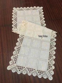 Crochet Lace Edging, Crochet Borders, Diy Crochet, Crochet Doilies, Crochet Patterns, Chrochet, Needlework, Knitting, How To Make