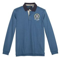 Rugby Shirt with Embroidered Badge R REFERENCE : price, reviews and rating…