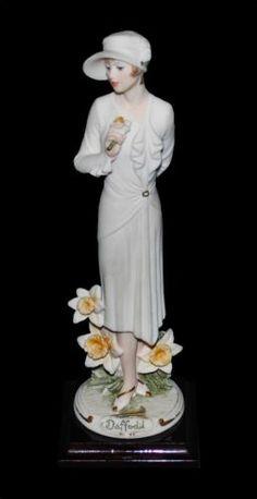 Giuseppe Armani Porcelain Figurine Daffodil REDUCED for Holiday Shopping | eBay