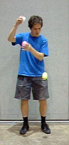 3 Ball Double Column Yo-yo.