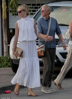 Just the two of us:Portia de Rossi and Ellen DeGeneres were picturedexploring St Barts hand-in-hand after dining with love birdsKendall Jenner and Harry Styles on their luxury yacht on New Year's Day