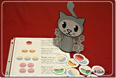 Crafts, Activities and Printables to go along with If You Give A Cat A Cupcake