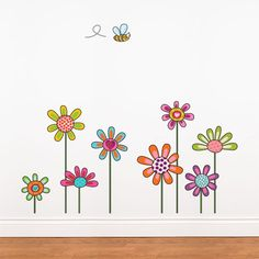 Rosenberry Rooms has everything imaginable for your child's room! Share the news and get $20 Off  your purchase! (*Minimum purchase required.) Rural Flowers Wall Decal