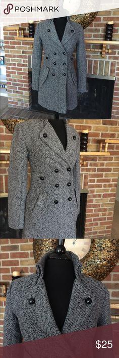 Winter coat Tweed coat super cute so many details 90% polyester 10% wool. B-wear Jackets & Coats Pea Coats