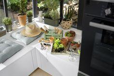 Kitchen Furniture, Kitchen Interior, Kitchen Design, Custom Kitchens, Cool Kitchens, Schmidt, Home Projects, Design Projects, Made To Measure Furniture