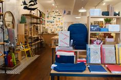 September views at Omoi Zakka Shop's Old City location, Philadelphia