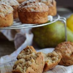 Sourdough Apple Butter Muffins