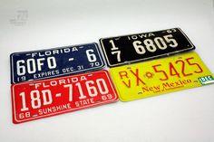 USA Nummernschilder / license plates - cyan74.com - vintage & pop culture | SOLD