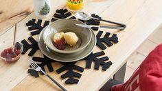 Set de table flocon Zara Home Noël 2015