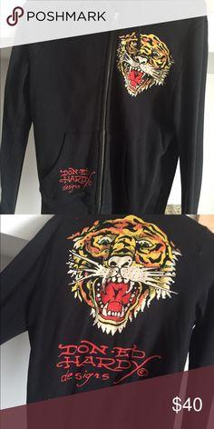 Ed hardy lion sweatshirt! NWOT Ed Hardy Tops Sweatshirts & Hoodies