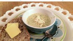 Healthy Broccoli Soup Recipe:  Simple Cream of Broccoli Soup with Parmesan