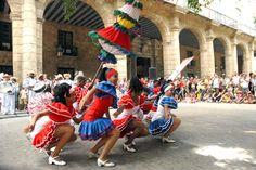 Espectaculo de Danza en la calle