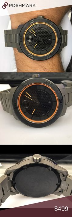 Men's sports watch This is pre-owned titanium movado men's sports watch.comes with gift box have all links and comes with a beautiful gift box. Movado Accessories Watches