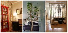 Lemnul in starea lui naturala aduce acel element inedit in orice fel de amenajari si in mod special in cele interioare. Idei de decoratiuni din lemn