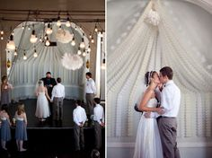 decor - paper garland ceremony | Flickr - Photo Sharing!