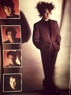 The Cure in 1984 for The Top Recital, The Cure Band, Death Aesthetic, Robert Smith The Cure, New Wave Music, Goth Bands, Band Wallpapers, I Robert, Cinema