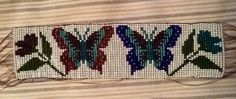 I made this on my bead loom-pattern found online