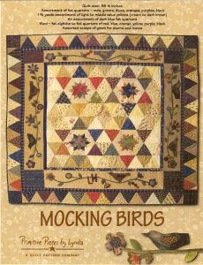 Mocking Birds pattern by Lynda Hall
