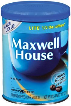 Maxwell House Lite Ground Coffee 11Ounce Cannister Pack of 3 * You can find more details by visiting the image link.