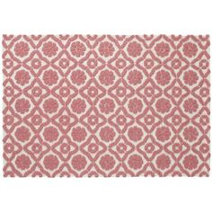 Garden Trellis Rug (Pink)   The Land Of Nod 4x6 $299   Mirau0027s Room