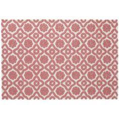 Garden Trellis Rug (Pink) | The Land Of Nod 4x6 $299   Mirau0027s Room