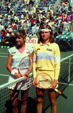 #Tennis, Chris Evert, 1980's
