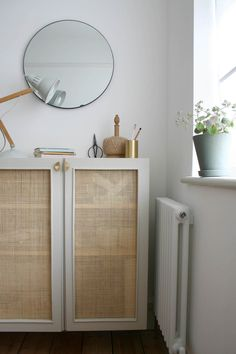 Journalist and interiors expert Kate Watson-Smyth looks at the increasing popularity in cane and woven furniture and whether to buy or do DIY Cane Furniture, Rattan Furniture, Diy Cupboards, Diy Cupboard Doors, Mad About The House, Shaker Style Doors, Home Trends, Malm, Interior Inspiration