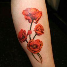 60 Beautiful Poppy Tattoos | Cuded