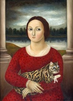 art-centric:  generic—eric:  Fatima Ronquillo, 'Woman with Injured Cat'