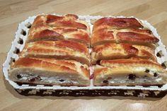 Jemnučké kysnuté cesto s úžasnou tvarohovou náplňou s hrozienkami. Hot Dog Buns, Hot Dogs, Pavlova, Nutella, French Toast, Food And Drink, Treats, Breakfast, Sweet