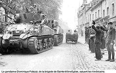 Le gendarme Dominique Palazzi, 6 juin 1944 à Sainte-Mère-Église