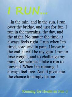 Just run! !!