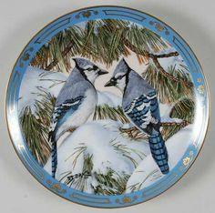 Danbury MintWinged Treasures: Blue Christmas - Artist: Derk Hansen