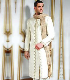M297 Sherwani for Wedding Men's Sherwani Wedding Sherwani Groom's Sherwani Sherwani $350 to $449
