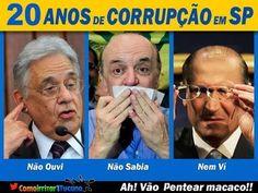 FORTES DENUNCIAS: São Paulo é governado por uma organização criminosa ch...