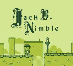 Jack B. Nimble (platformer with gameboy style) [created with construct 2] http://noonansean.blogspot.com