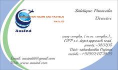 check my visiting card