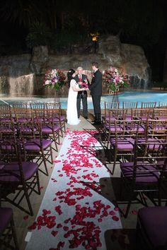 Wedding At The Mirage Pool