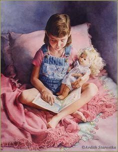 The Reading Lesson ©Ardith Starostka