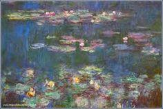 """Monet """"Les Nymphéas"""" - La classe d'Ameline"""