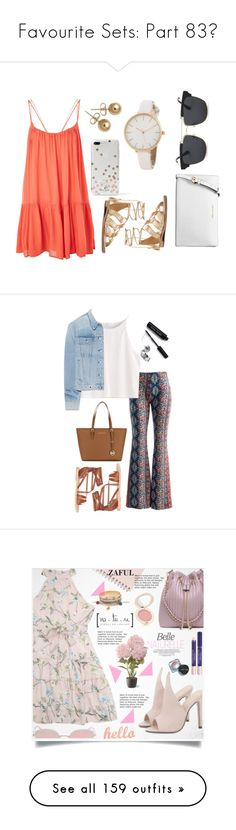 """""""Favourite Sets: Part 83❣"""" by moon-and-starss ❤ liked on Polyvore featuring Topshop, MICHAEL Michael Kors, Bling Jewelry, Michael Kors, Kate Spade, Fashionomics, rag & bone, Ancient Greek Sandals, Bobbi Brown Cosmetics and Jane Iredale"""